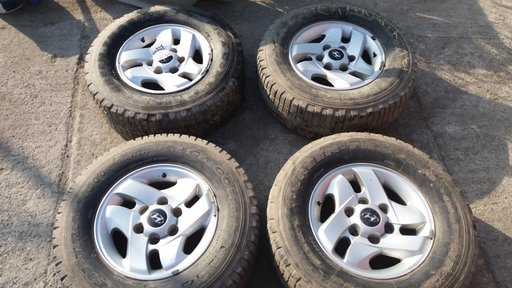 Jante aliaj Hyundai Terracan, R16, 7Jx16 offset 20, 6 x 139.7