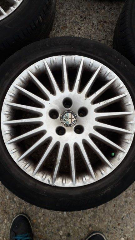 Jante Aliaj Originale Pe 17 Alfa Romeo 159