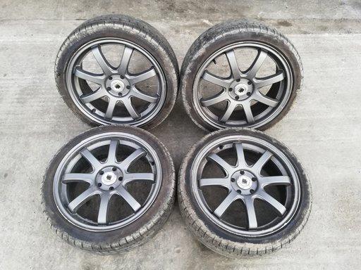 Jante aliaj R17 5x100 VW Polo 6r Fabia 2 Seat Ibiza 6j 215/40 R17 anvelope vara DOT 2017