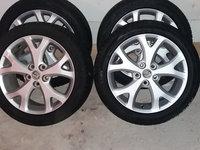 Jante aliaj R17 5x114.30 cu anvelope iarna M+S pt Mazda si altele