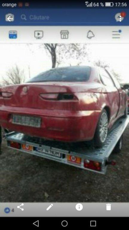 Jante aliaj set 4 bucati cu cauciucuri. 215/55/17 (Alfa Romeo 156/benzina 2.0 an 2003