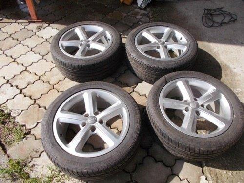 Jante Audi originale + anvelope 235/45 R17 set