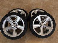 Jante BMW R18 anvelope iarna noi 245-40-18 BMW F30 F31 E60 E61