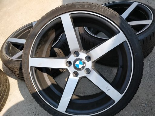Jante BMW Seria 5 e60 lci R19 + cauciucuri dot 2016 IMAZ IM3