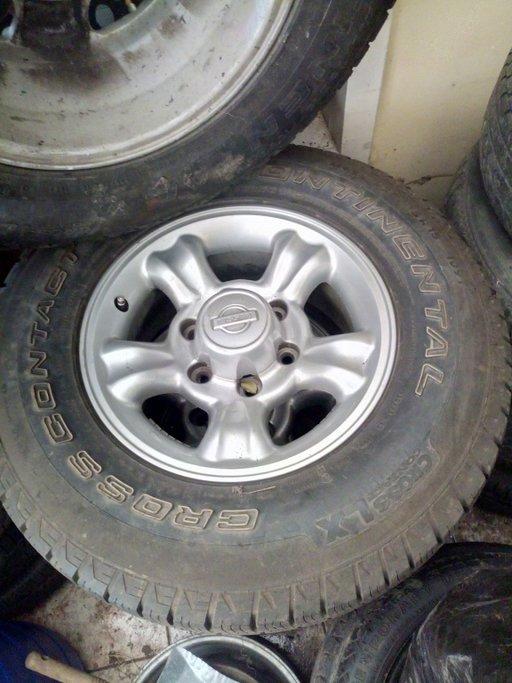 Jante gip 6x114,3 pajero , Toyota