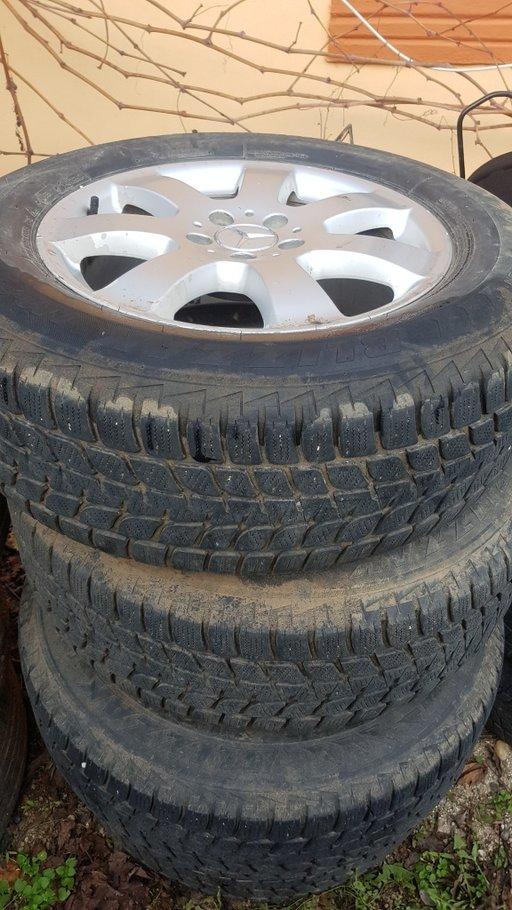 Jante Mercedes Ml W164 cauciucuri iarna 235/65/17