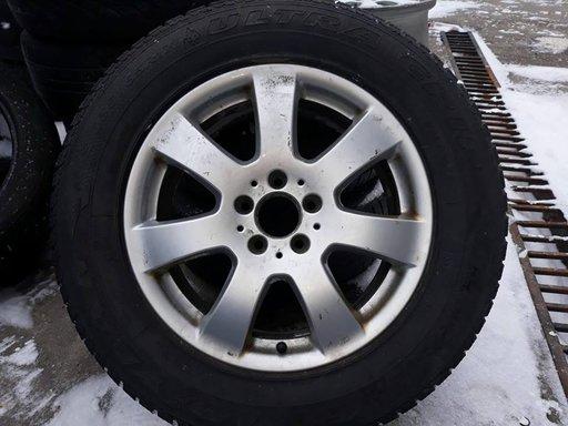 Jante Mercedes ML W164 cu anvelope iarna Michelin Alpin Dunlop Wintersport