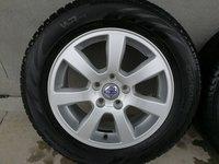 "Jante ODEN R16"" 5x108 Volvo S60 V60 S80 V70 XC70 S40 V50 V40 C30 C70 + anvelope vara 225/55 R16 FULDA 2017"