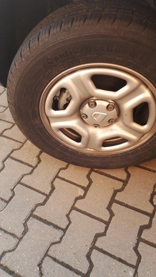 Jante tabla Dacia Duster
