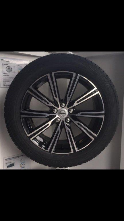 Jante volvo originale NOI New model 2018 R19 cu cauciucuri Michelin noi de vara 235/55 pentru xc60 xc90