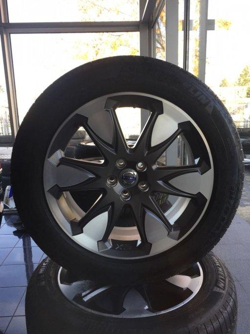 Jante volvo originale R19 NOI NEW pentru xc60 cu cauciucuri de vara Michelin noi pentru xc60 xc90