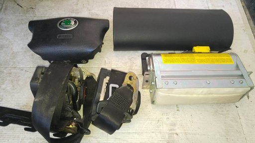 Kit airbag cu capac skoda superb 1 2004