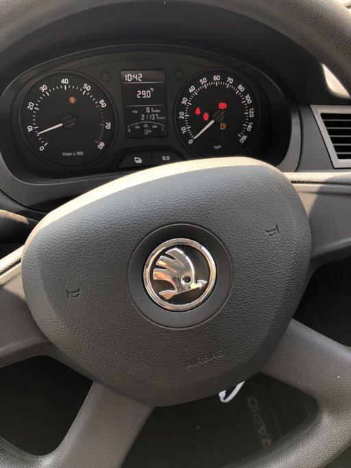 Kit Airbag fara plansa : Airbag volan, pasager, centuri si calculator Skoda Rapid 2013