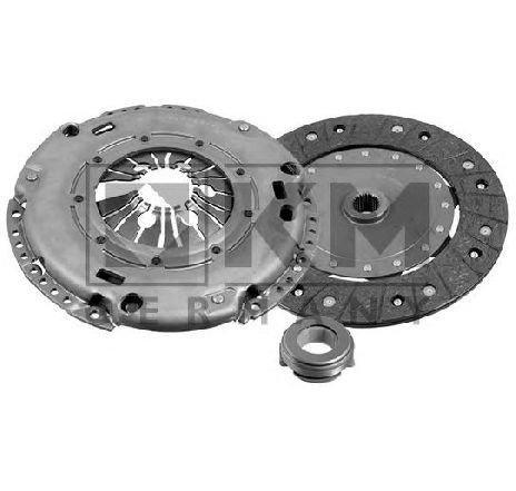 Kit ambreiaj VW POLO ( 6R, 6C ) 06/2009 - 2019 - producator KM Germany 069 0758 - 308025 - Piesa Noua