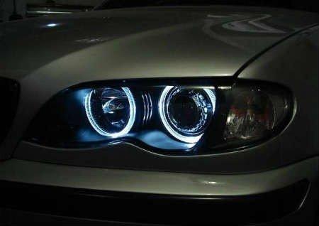 Kit Angel Eyes CCFL BMW Seria 3 E46 (far cu lupa) (4001)