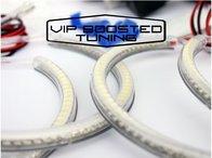 Kit Angel Eyes LED SMD pentru BMW E46 fara xenon din fabrica
