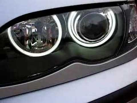 Kit Angel Eyes SMD LED Samsung pentru BMW E46
