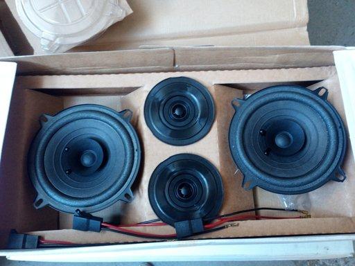Kit Audio Difuzoare Fata Seat Toledo 2x80Watt Lichidare Stoc!