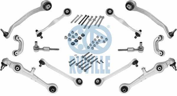 Kit brațe VW PASSAT B5, Audi A4 B5, A6 95-2005 RUVILLE