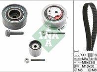 Kit distribuie Curea + role INA made in Germany pentru VW, AUDI, SKODA,SEAT 2.0TDI