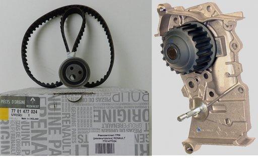 Kit distributie cu pp de apa Dacia , Renault 1.4 - 1.6 benzina 7701477024 7701472725S1