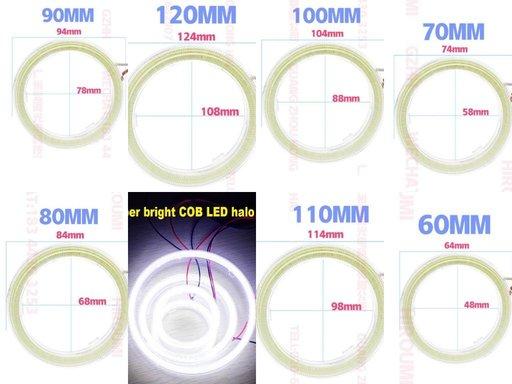 Kit Inele ANGEL EYES 120mm-110mm-100mm-90mm -80mm-70mm-60mm