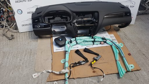 Kit Plansa de bord + Airbag Volan + Pasager pentru