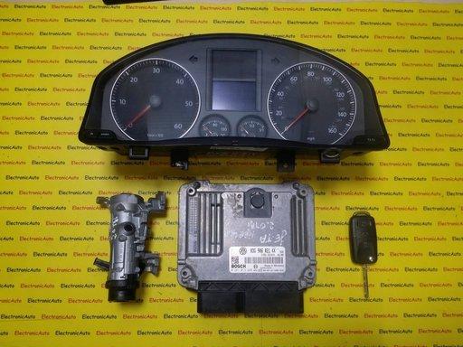 Kit pornire VW Golf5, Jetta 2.0TDI 0281013228, 03G906021KK, motor BKD 140CP