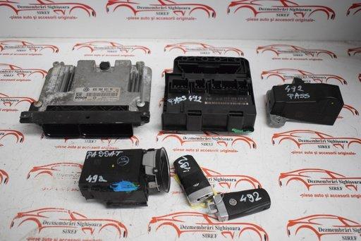 Kit pornire VW Passat B6 2.0 Tdi BMP 03G906021NK 4