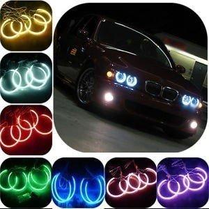 Kit RGB Led Angel Eyes BMW Seria 3 E46 Far Fara Lu
