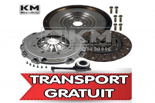 KIT / SET ambreiaj plus volanta cu masa simpla FABRICATIE GERMANIA VW, SEAT,1.9TDI ARL 150CP TRANSPORT GRATUIT