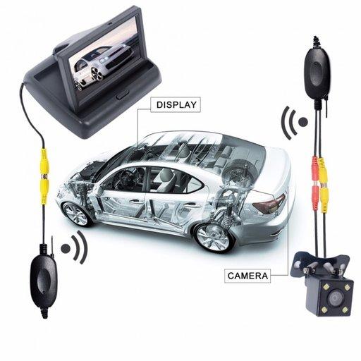 Kit wireless pentru camera marsarier