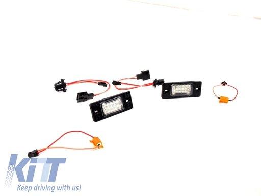 Lampa de numar LED Canbus , Golf 5 v Tiguan, Porsche Cayenne (02-10)