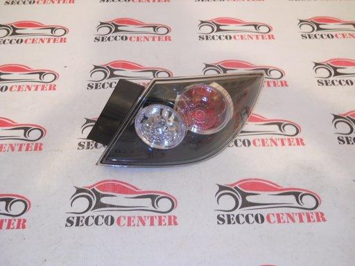 Lampa spate negru Mazda 3 Hatchback 2007 2008 2009 Dreapta