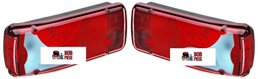 Lampa spate (tripla) stanga Man TGA TGL TGM TGX 2005-2016 cu mufa | Piese Noi | Livrare Rapida