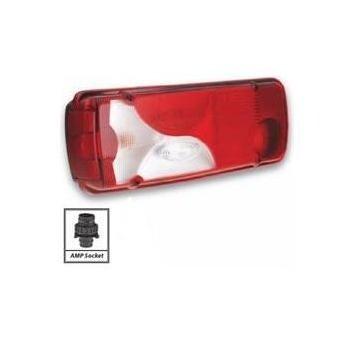 Lampa spate (tripla) stanga Scania P & R, cu mufa AMP - Piese Noi