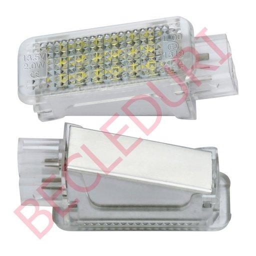 Lampi LED dedicate parasolar AUDI RS4(B8) 5D, RS4(B5) 4D, RS4(B5) 5D set 2 buc.