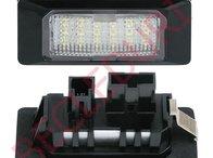 Lampi LED numar dedicate AUDI A1/S1, A7/S7, A5, A4 B8, A6 C7/S6 set 2 buc.