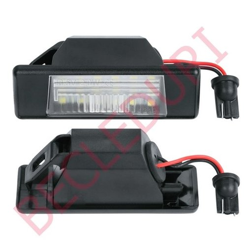 Lampi LED numar dedicate NISSAN set 2 buc.