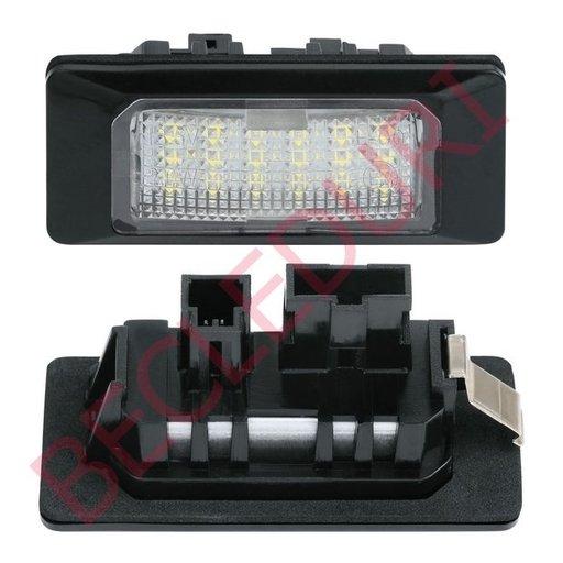 Lampi LED numar dedicate VW SHARAN II, TOURAN Facelift, TOUAREG II set 2 buc.