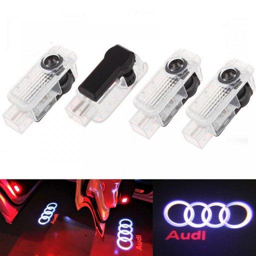 LED logo holograma portiere AUDI A4, A5, A6, A8, A