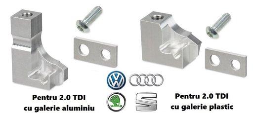 Limitator motoras galerie admisie , kit reparatie VW AUDI SKODA SEAT P2015 P2009 2.0 2.7 3.0 4.2 TDI