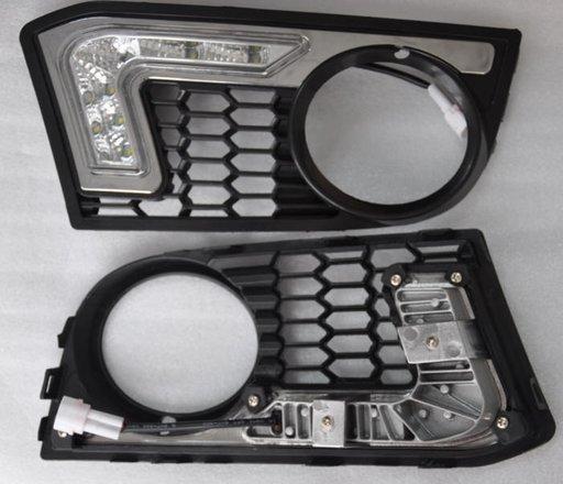 Lumini de zi dedicate-Proiector cu grila Vinstar BMW SERIA5 F10 M-TECH