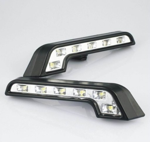 Lumini de zi DRL- Daytime running light 6 leduri