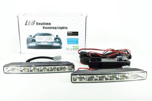 Lumini de zi DRL lumina Alba 12V-24V