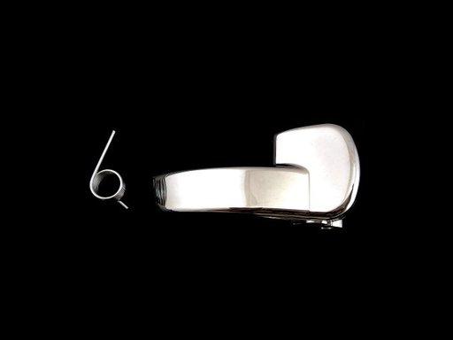 Maner interior deschidere usa Nissan Qashqai J10 2007-2010, Usa Fata/ Spate, partea stanga, cromat