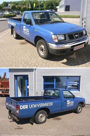 Maner usa interior albastru NISSAN PU(D22) 2WD-4WD 98-01 cod 013107871