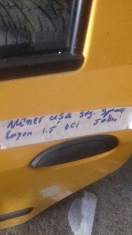 MANER USA STANGA SPATE DACIA LOGAN 1.5DCI 2006