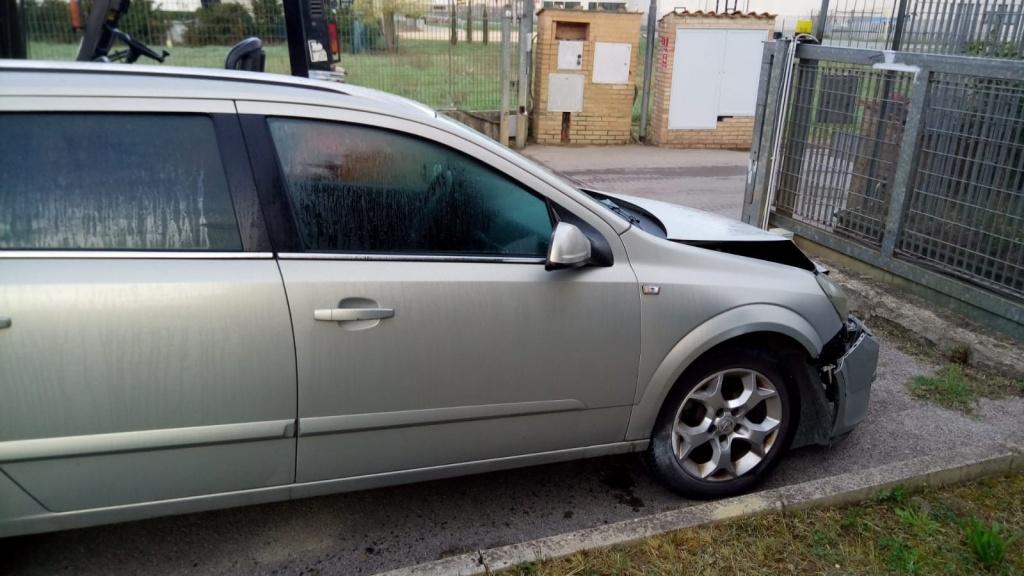 Maner usa stanga spate Opel Astra H 2005 break 1.9 cdti
