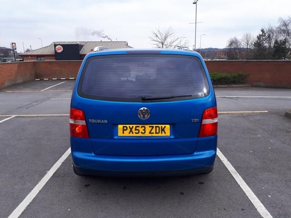 Maner usa stanga spate VW Touran 2004 normal 1.9
